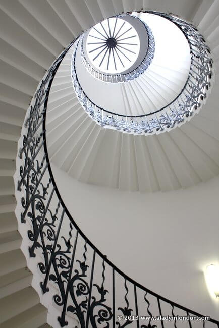Tulip Staircase at the Queen's House in Greenwich