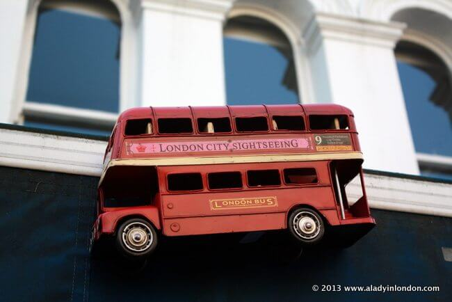 London Bus Toy