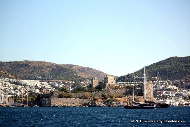 Castle in Bodrum, Turkey