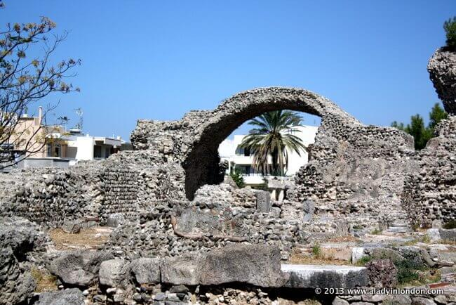 Ruins in Kos, Greece