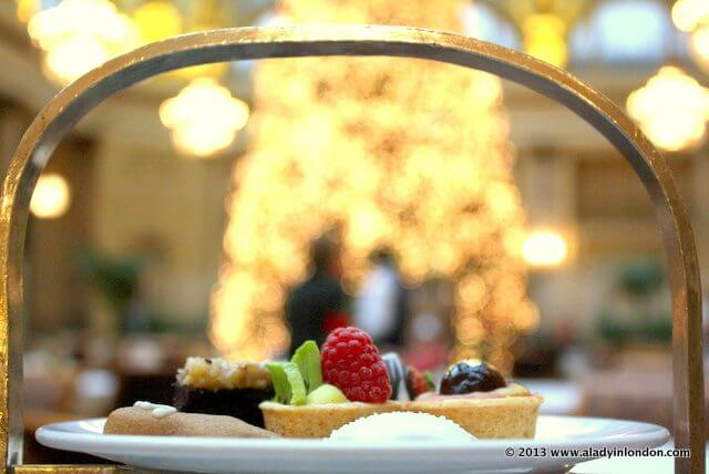 Christmas Afternoon Tea at the Palace Hotel in San Francisco