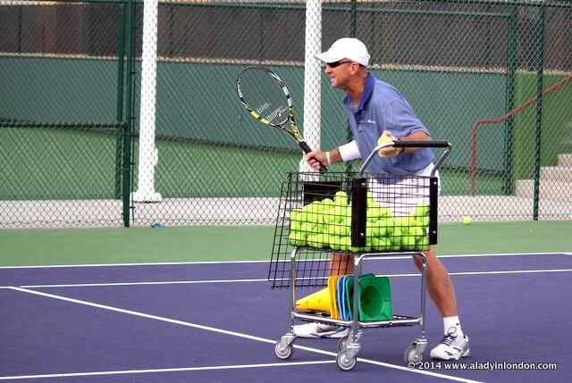 Tennis in Palm Springs, California