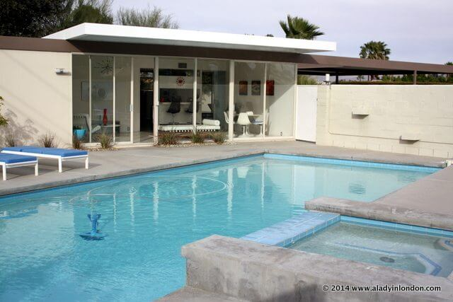 Steel House Number 2 in Palm Springs, California