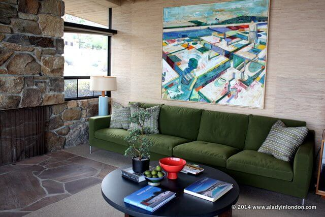 Mid-Century Modern House Interior in Palm Springs, California