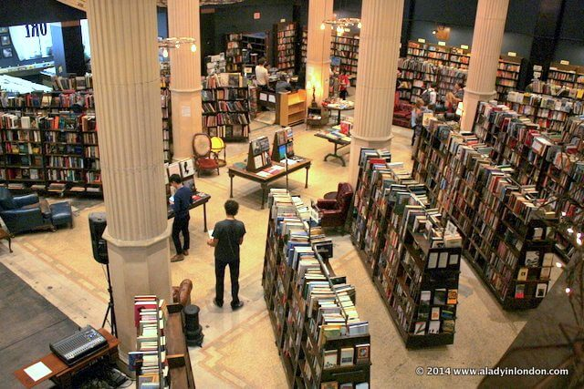 The Last Bookstore in LA, California