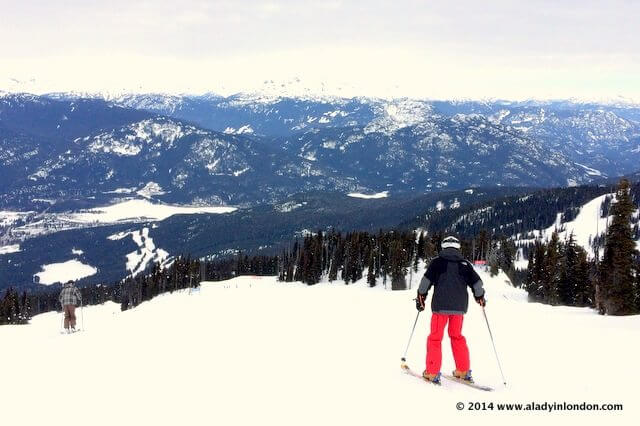 Skiing and beyond in Whistler, Canada
