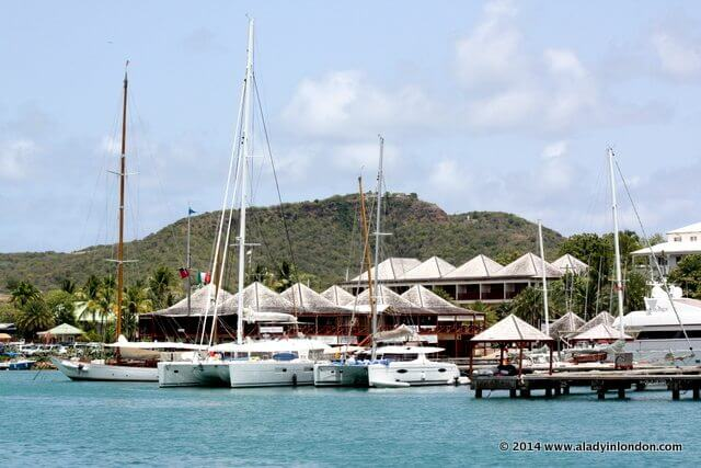 Yacht Club in Antigua