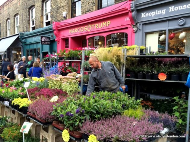 Image result for Columbia Road Flower Market