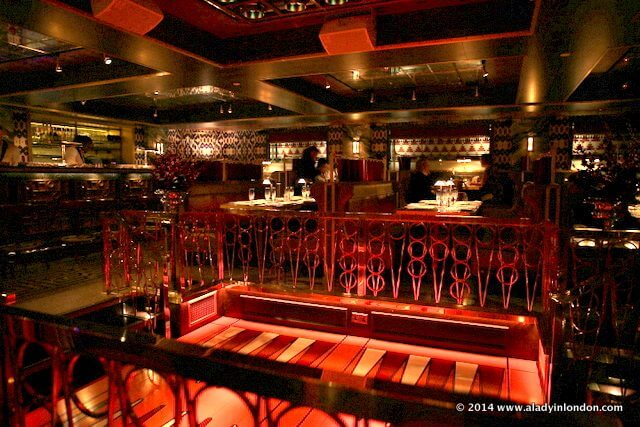 Bob bob ricard club room in london review for Q dining room london