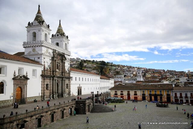 Church of San Francisco in Quito, Ecuador