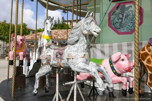 Carousel on the Ile de Re, France