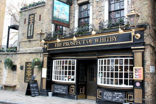 The Prospect of Whitby Pub, London