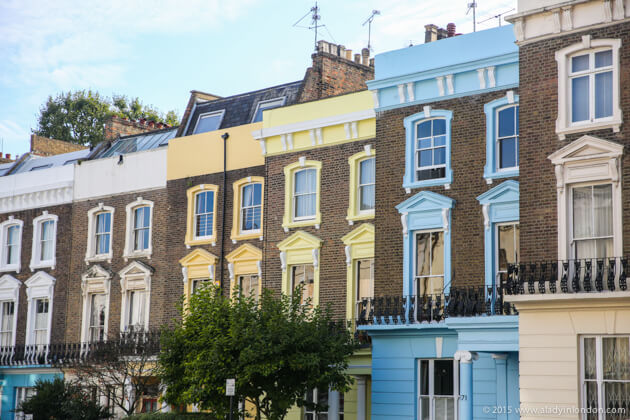 Houses in Primrose Hill