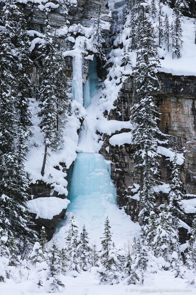 Frozen Waterfall, Lake Louise