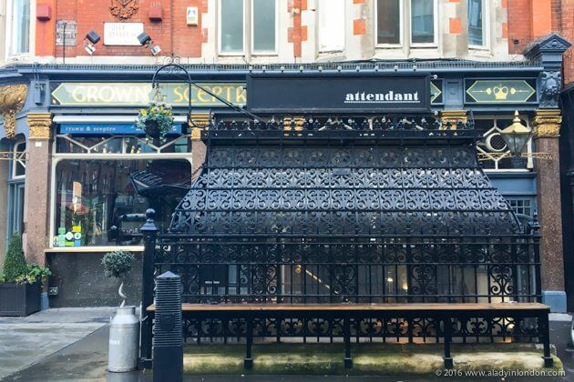 The Attendant Cafe in London