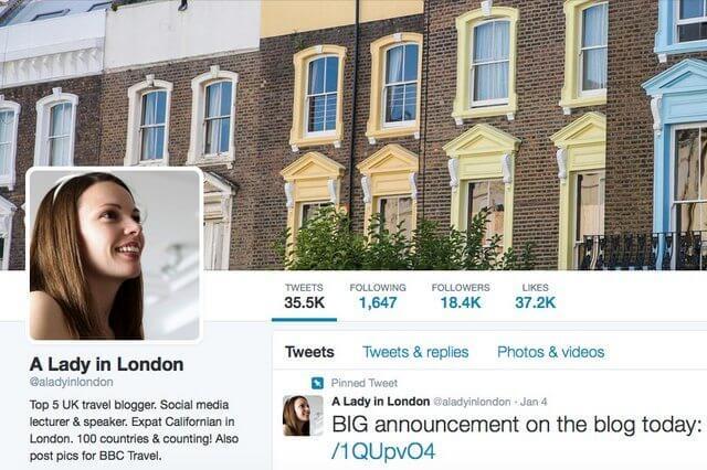 A Lady in London on Twitter
