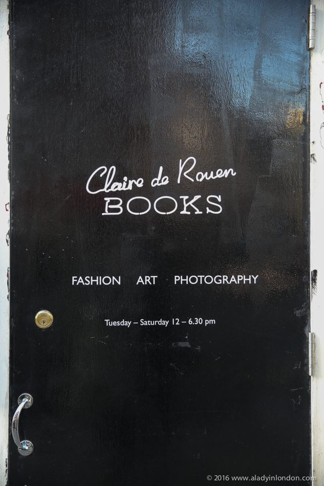 Claire de Rouen Books, London