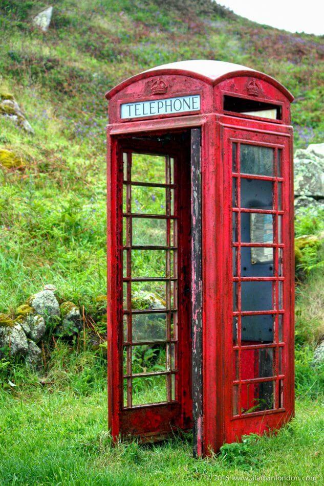 صندوق الهاتف الأحمر ، جزر سيلي