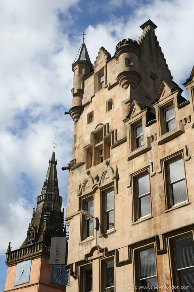 Victorian Buildings, Glasgow