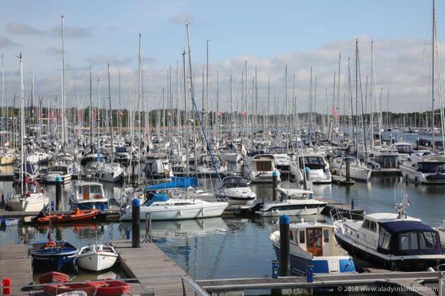 Lady Sails in Southampton