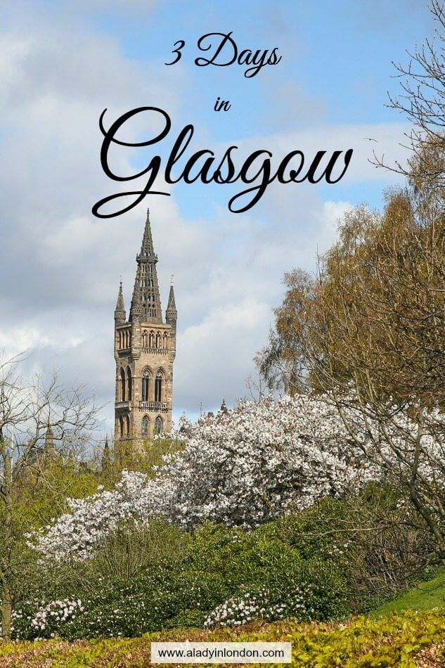 3 Days in Glasgow