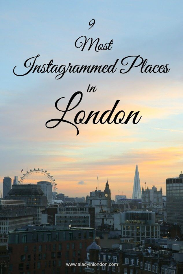 Most Instagrammed Places in London