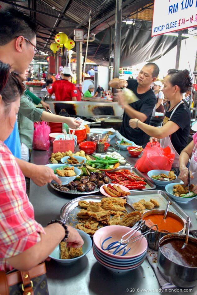 Street Food Market in Kuala Lumpur
