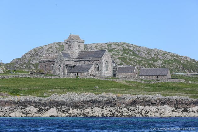 Monastery on Iona, Scotland