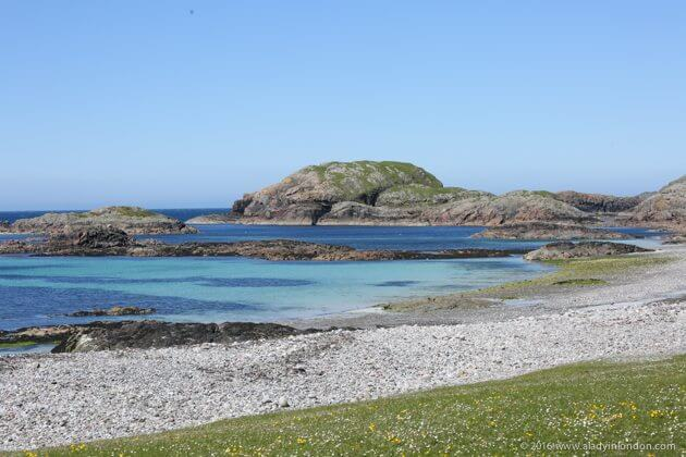 Beach on Iona, Scotland