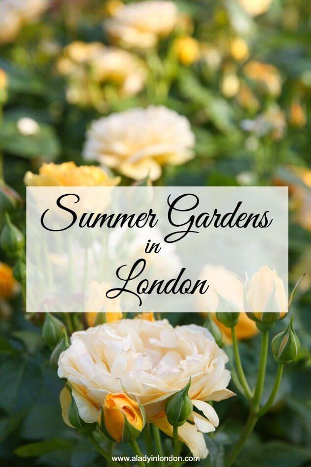 Best Summer Gardens in London