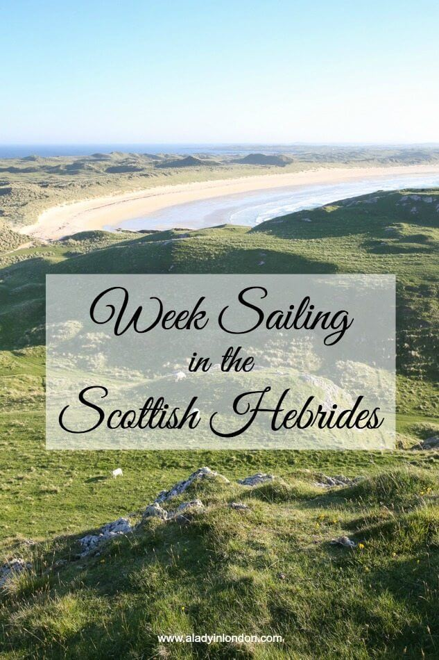 Week Sailing in the Scottish Hebrides