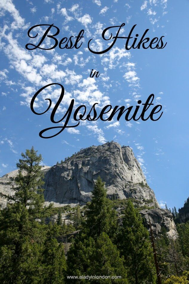 Lady's 4 Hikes You Have to Do in Yosemite