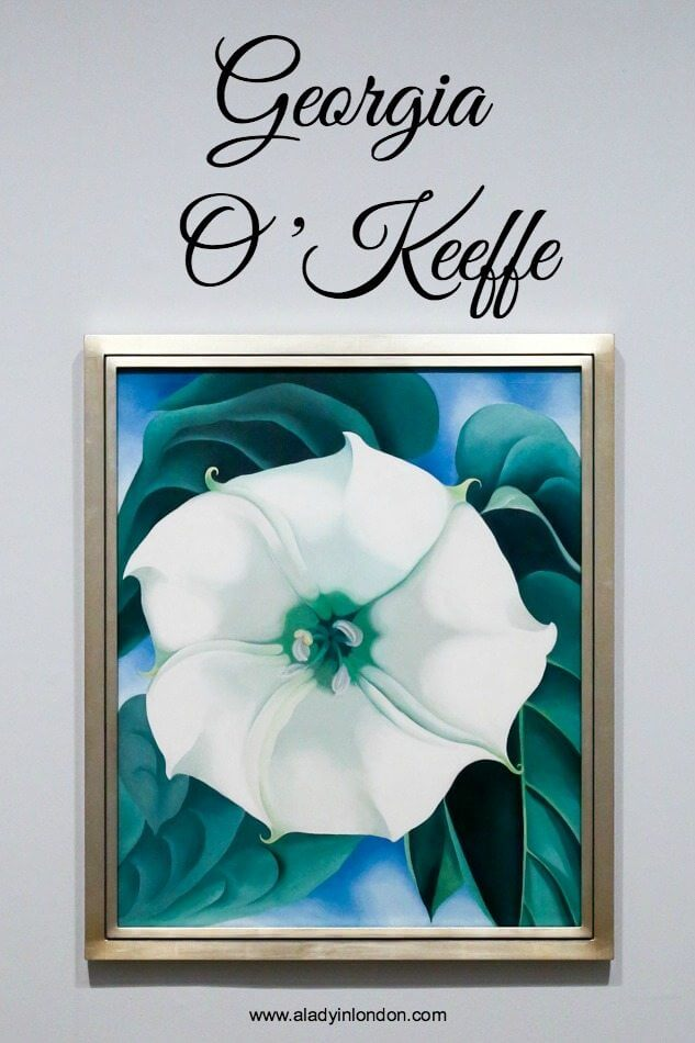 Georgia O'Keeffe Exhibition at Tate Modern