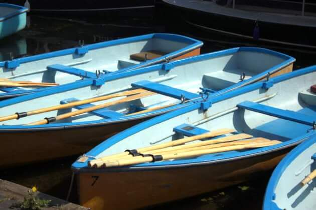 Boats in Henley on Thames