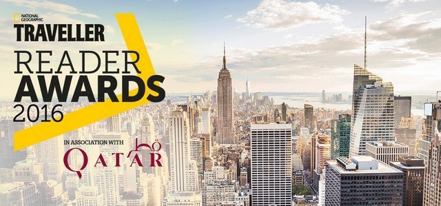Lady is Nominated for a National Geographic Traveller Reader Award