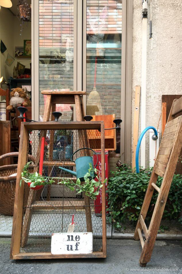 Shop in Yanasen, Tokyo