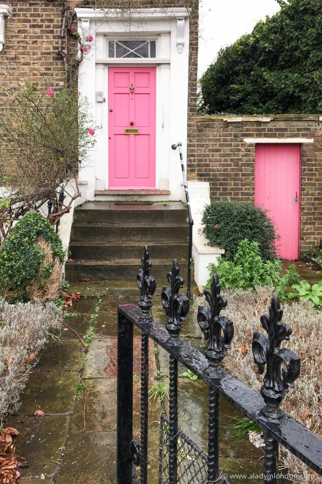 Doors in De Beauvoir Town, London