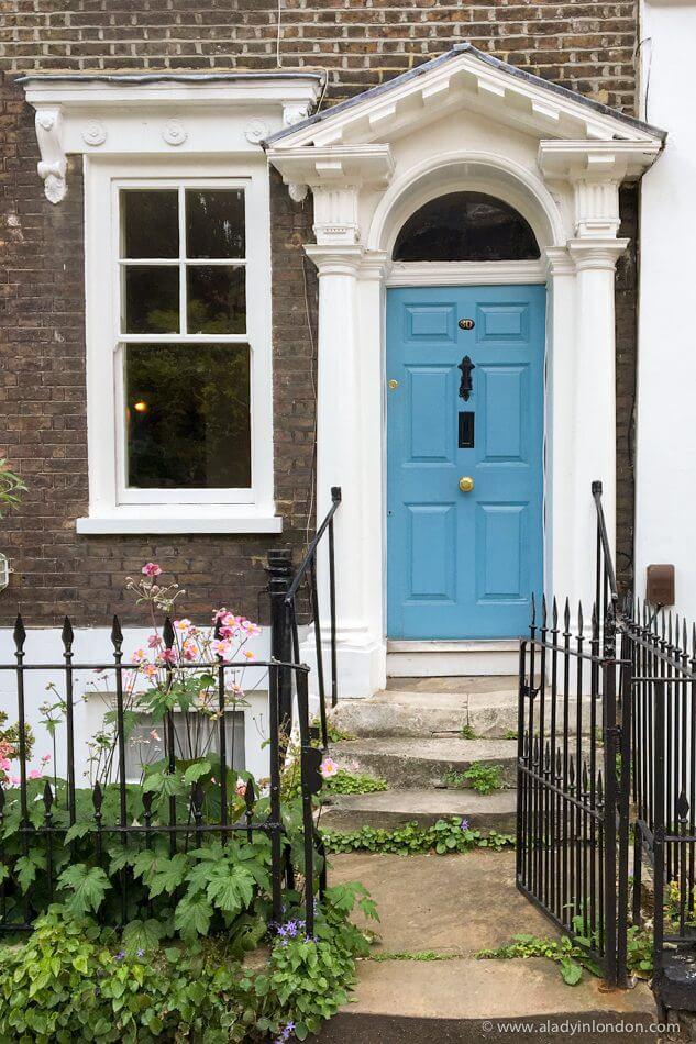 Door in Greenwich, London