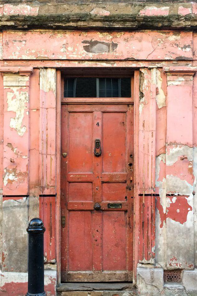 Door in Spitalfields, London