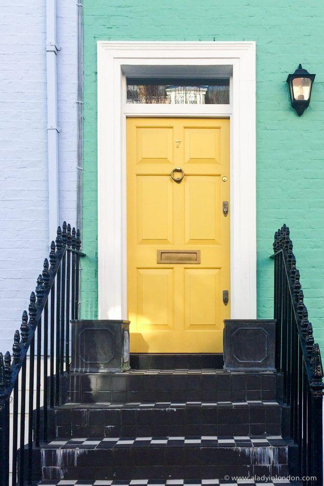 Door in Chelsea, London