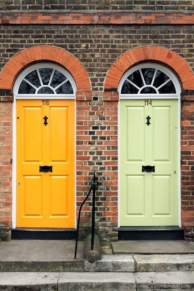 Doors in Chiswick, London