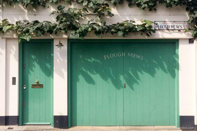 Doors in Battersea, London