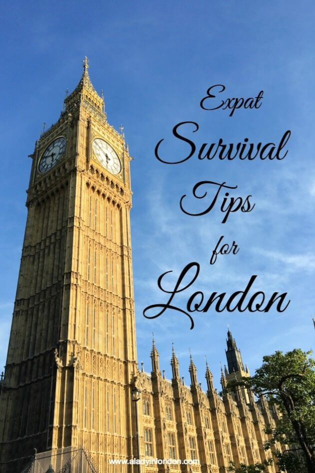 Expat Tips for Living in London