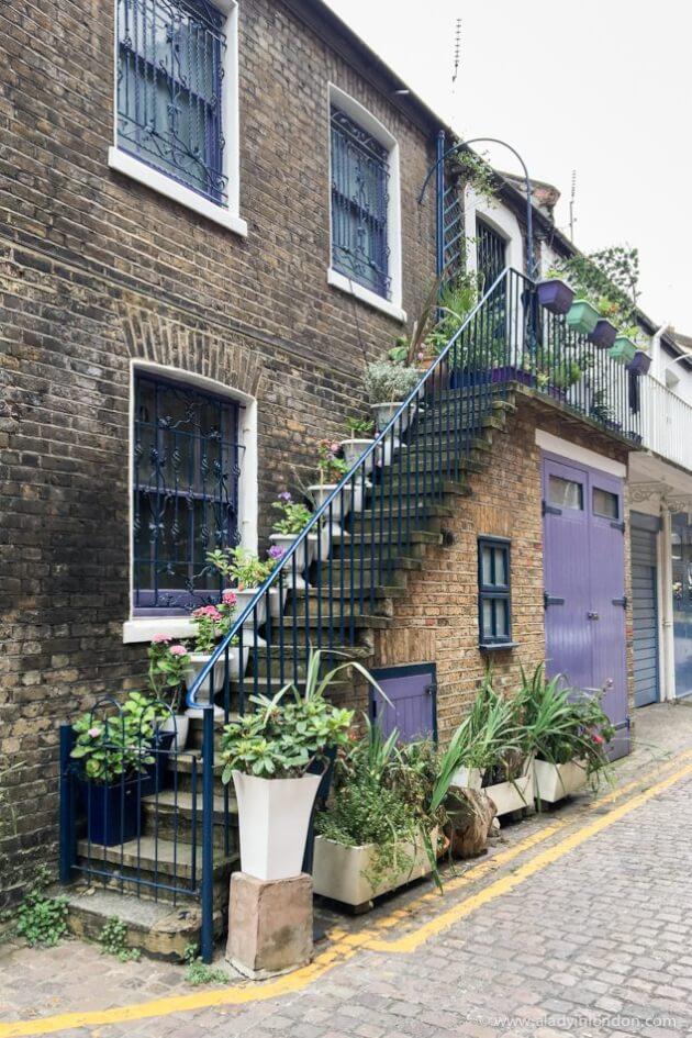 Dove Mews, London