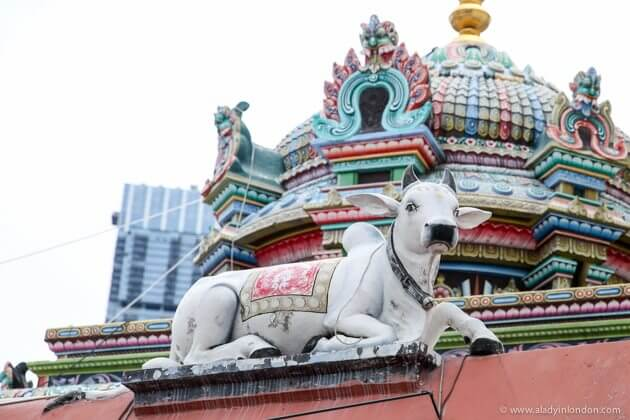Temple in Chinatown, Singapore