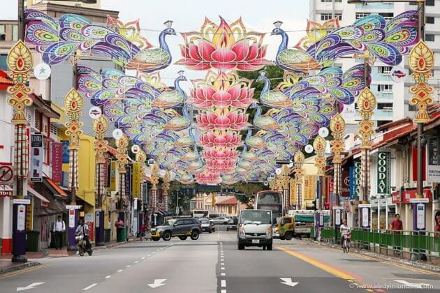 Little India at Diwali, Singapore