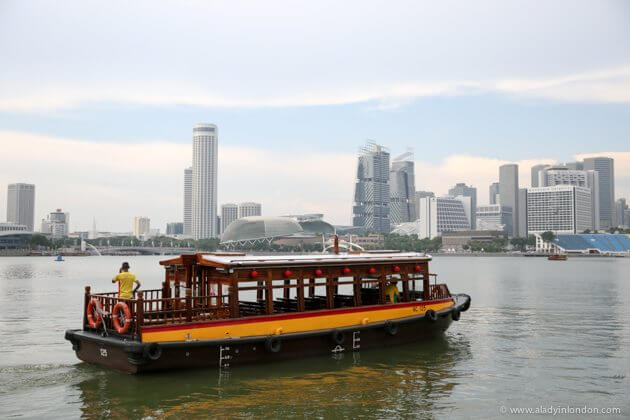 Boat in Singapore
