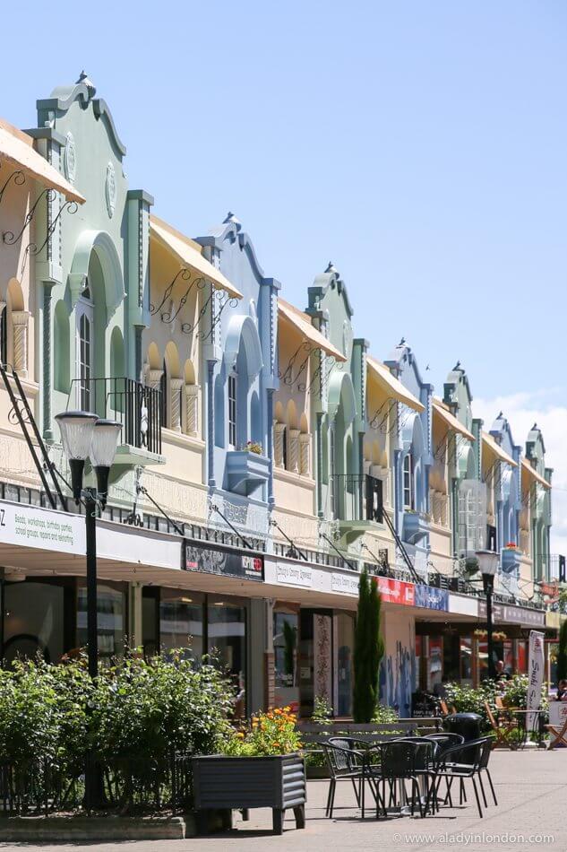 New Regent Street, Christchurch, New Zealand