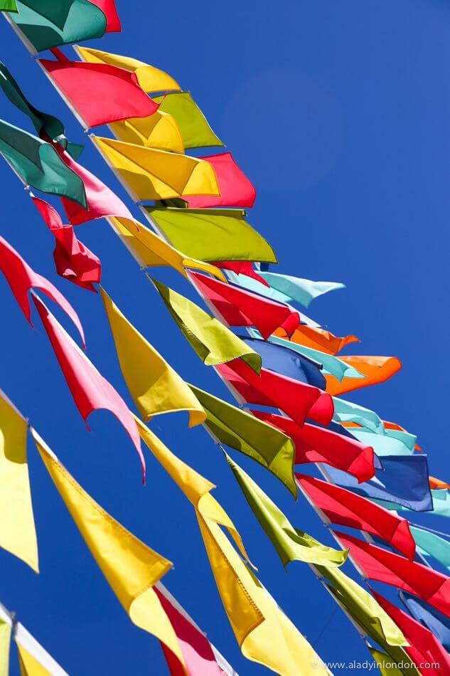 Flags, Christchurch, New Zealand