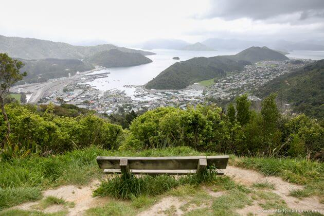 View of Picton, New Zealand